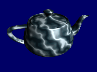 OpenGL Marble: Per-Fragment Perlin Noise - Paul's Projects